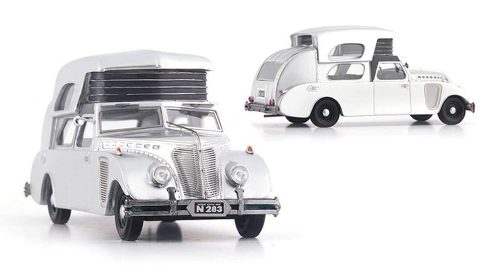 1:43 1934 Thompson House Car