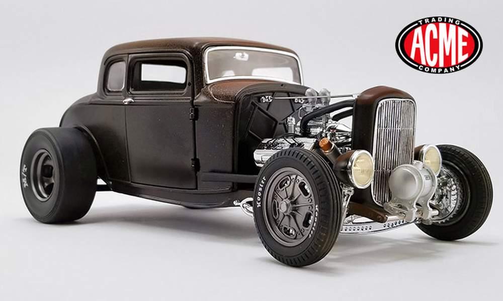 1:18 PorkChop's 1932 Ford '190 Proof' Hot Rod