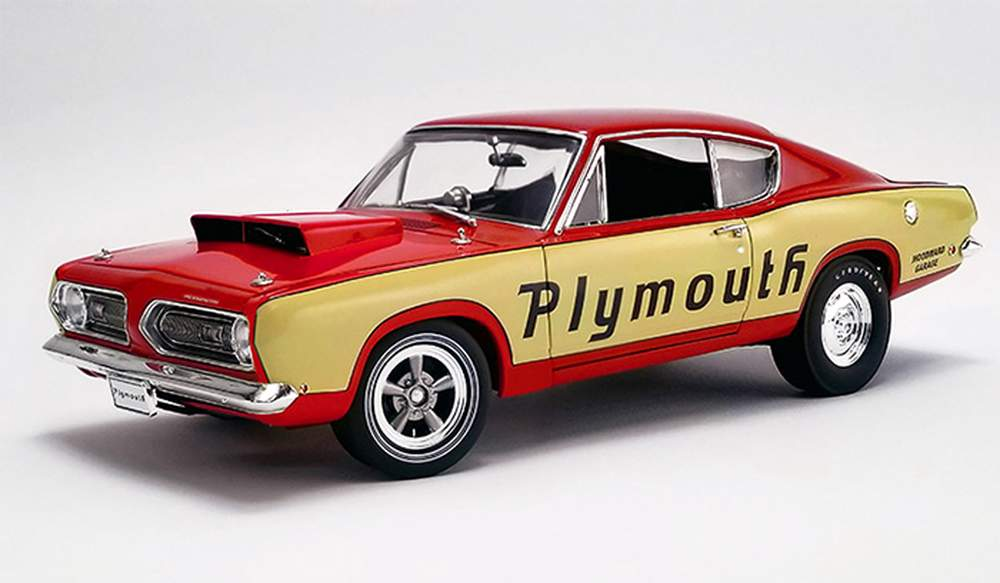 1:18 1968 Plymouth Barracuda - Super Stock Test Mule