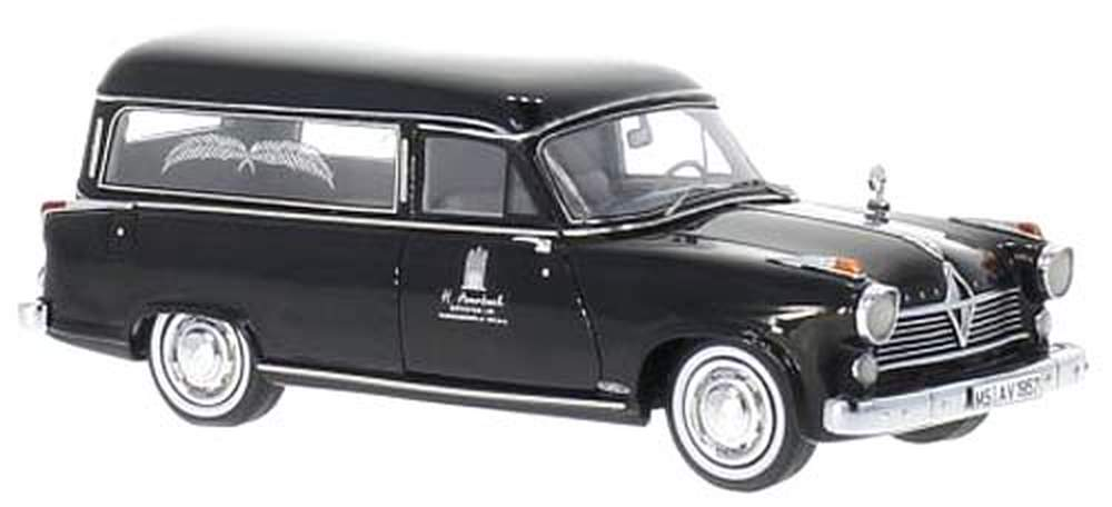 1957 Borgward Hansa 2400 Rappold Hearse (Black)