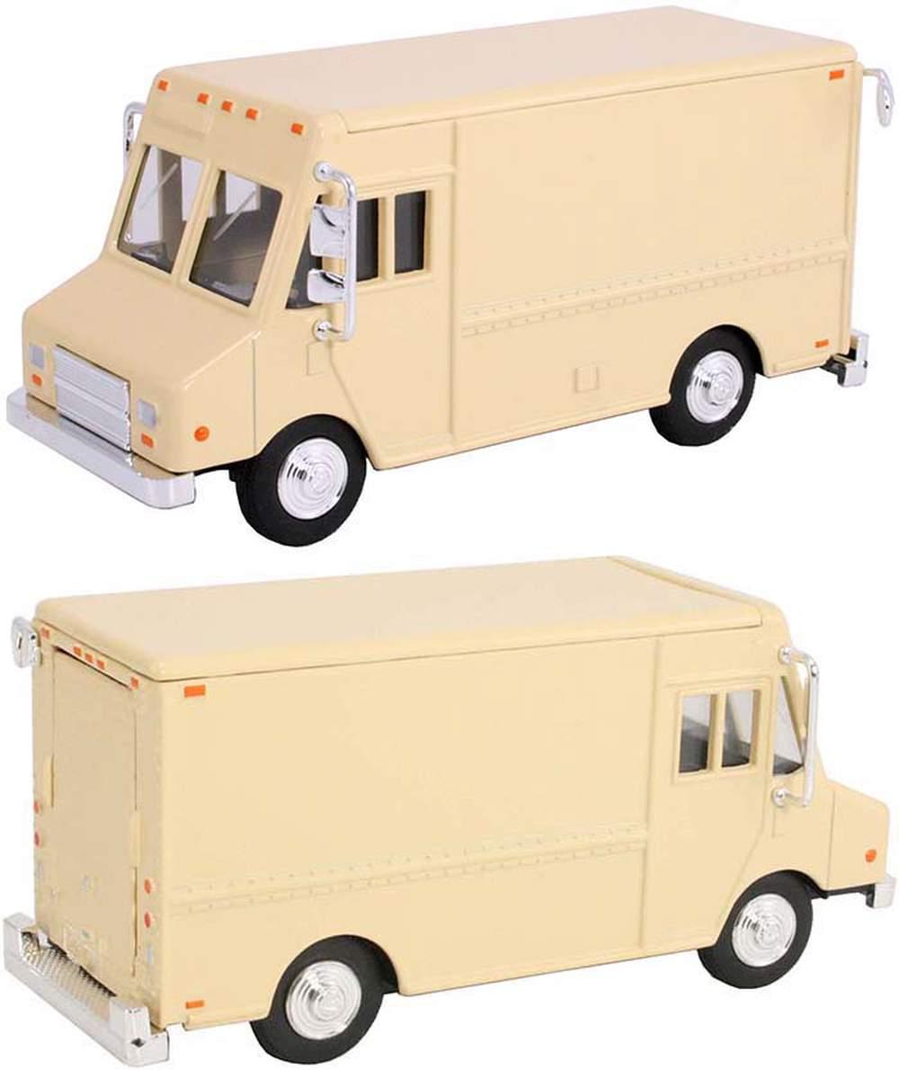 1:48 Delivery Step Van (Beige - Undecorated)