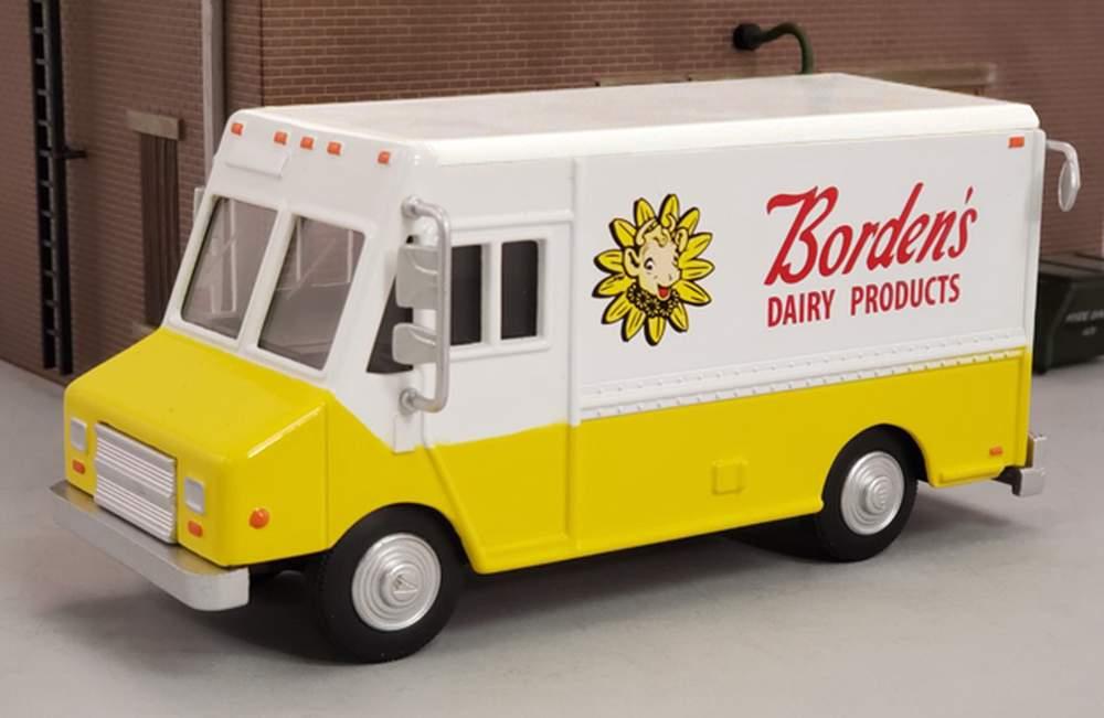 """1:48 Delivery Step Van """"Borden's"""""""