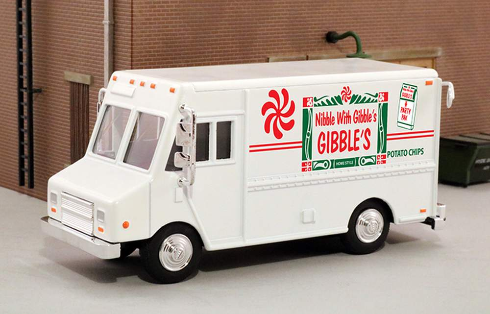 """1:48 Delivery Step Van """"Gibble's Potato Chips"""""""
