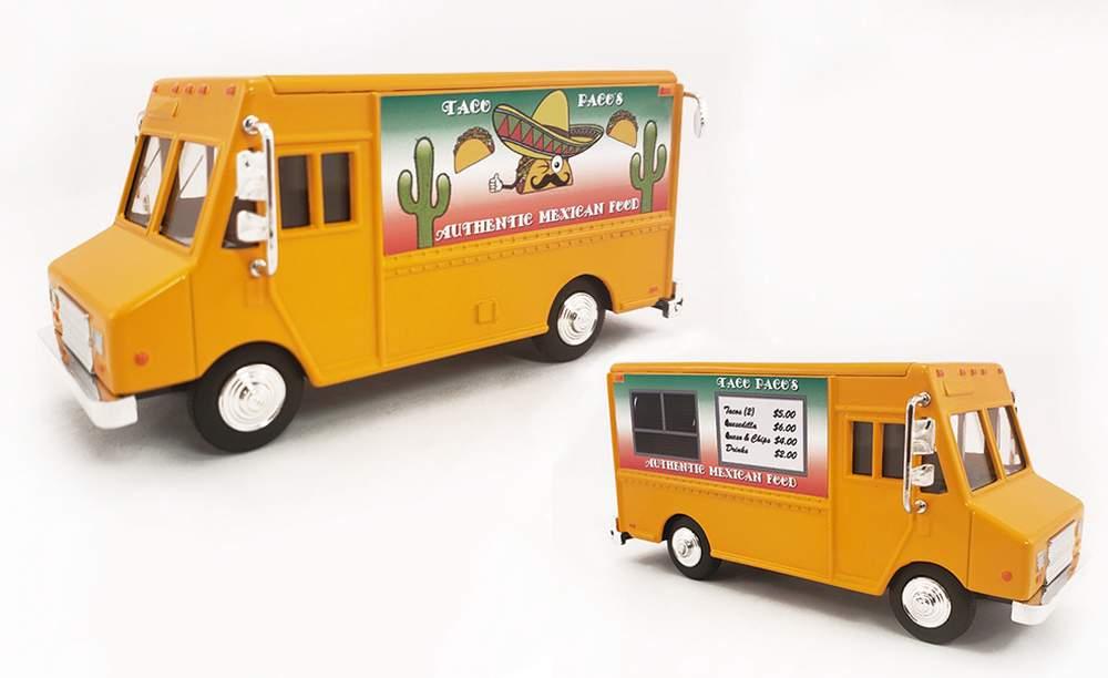 "1:48 Delivery Step Van ""Taco Food Truck"""