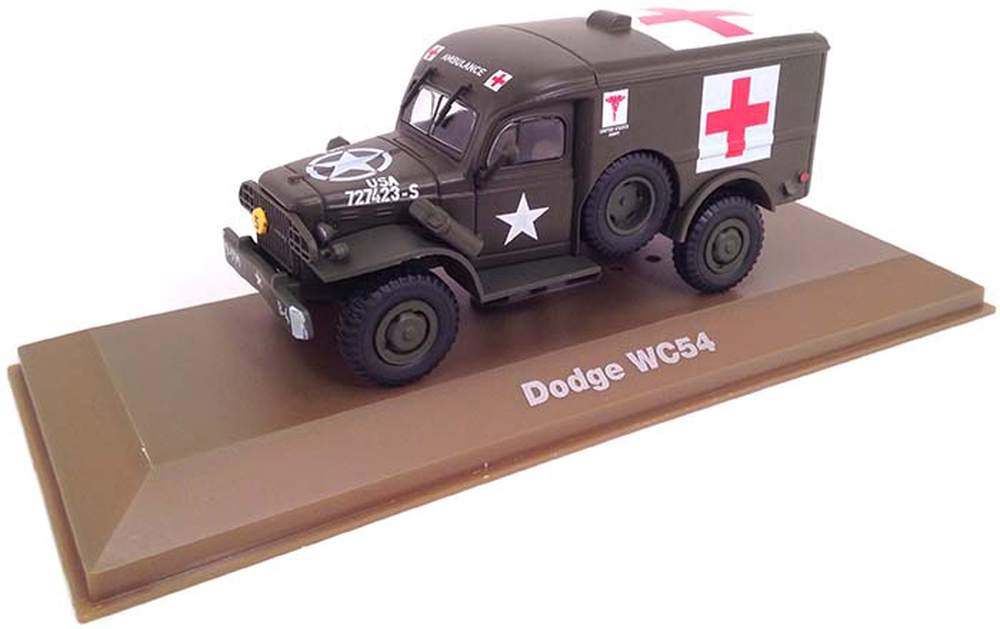 1:43 Dodge WC54 4x4 Ambulance