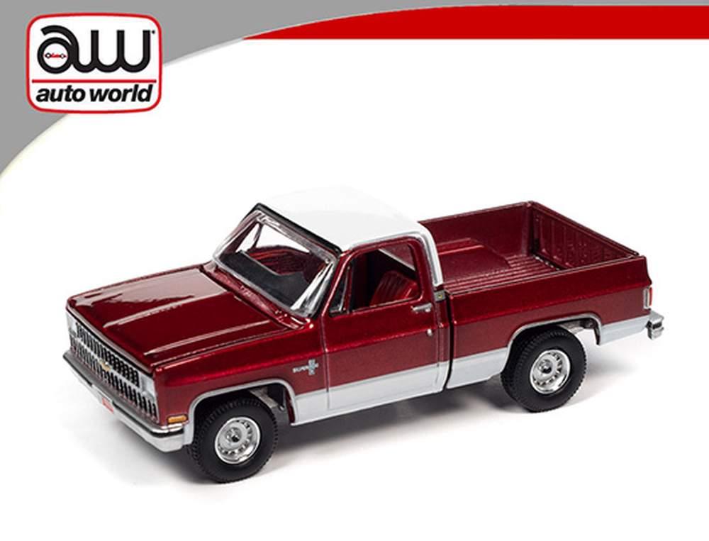 1981 Chevrolet Silverado 10 (Carmine Red w/White Roof & Lower Sides)