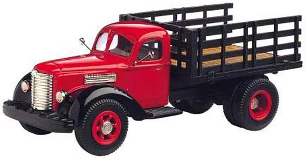 1:43 1947 International KB-12 Stake Truck (Red)