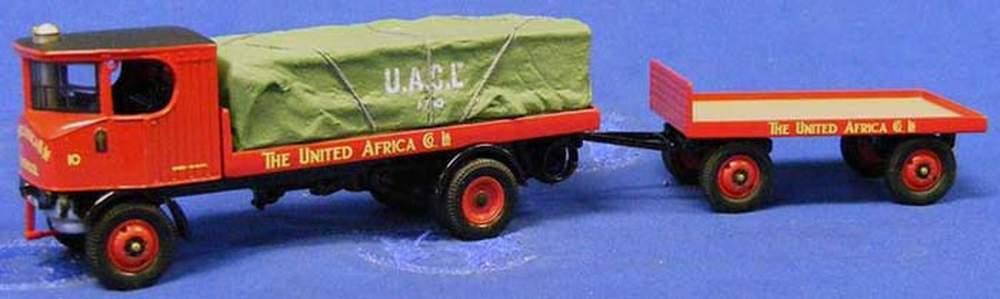 Vintage Glory - Sentinel Platform Wagon w/Trailer & Canvas ...