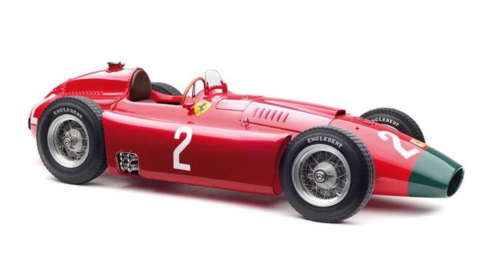Ferrari-Lancia Long-Nose D50, 1956 German Grand Prix, Collins #2