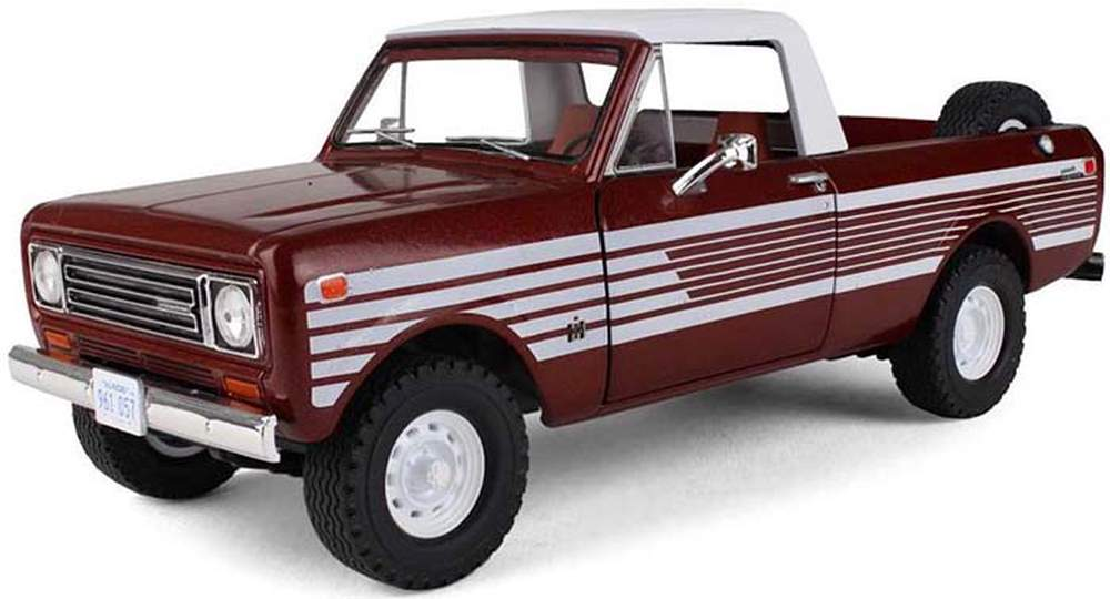 1 25 1979 International Scout Terra Pickup Tahitian Red Metallic First Gear Diecast Direct Inc