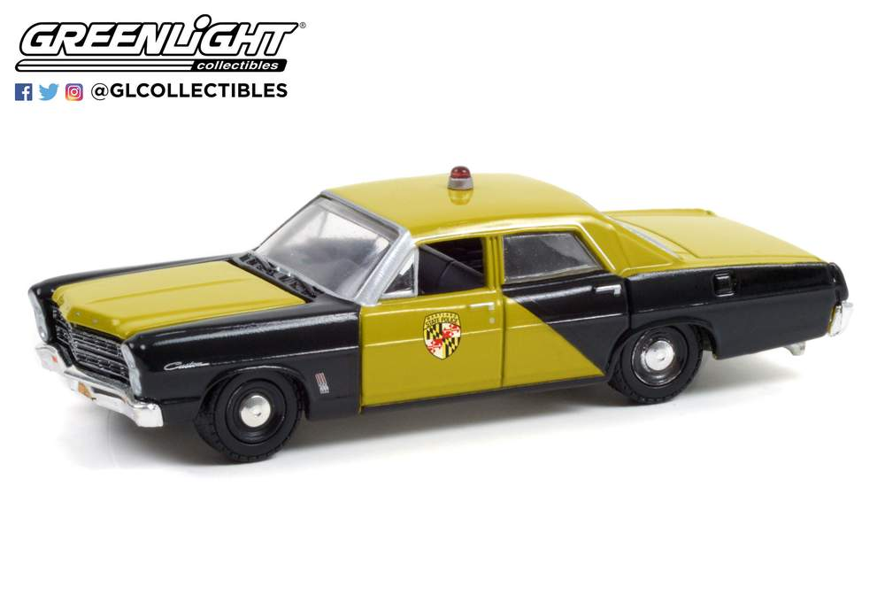 1:64 1967 Ford Custom - Maryland State Police - Maryland State Police 100th Anniversary
