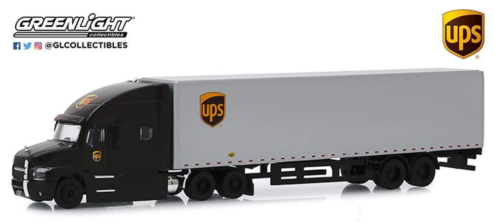 "1:64 2019 Mack Anthem Tractor Trailer ""United Parcel Service (UPS) Freight"""