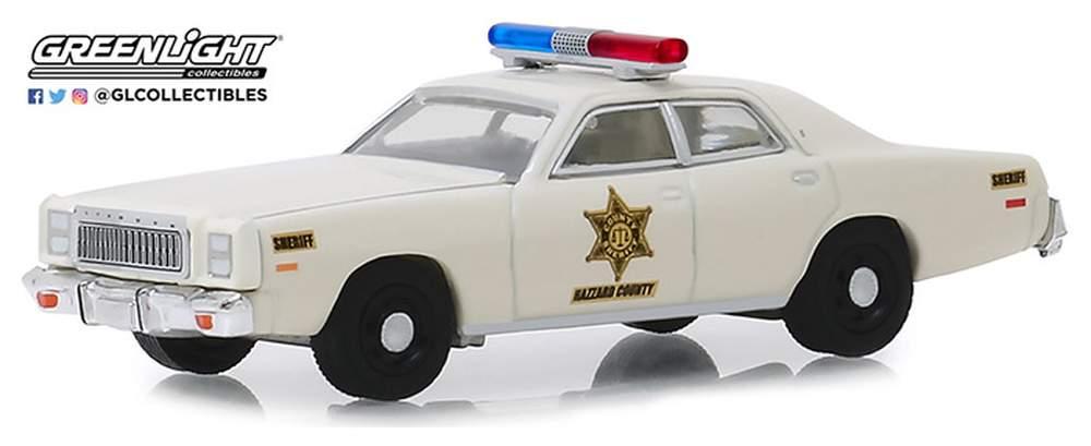 "1:64 1977 Plymouth Fury ""Hazzard County Sheriff"""