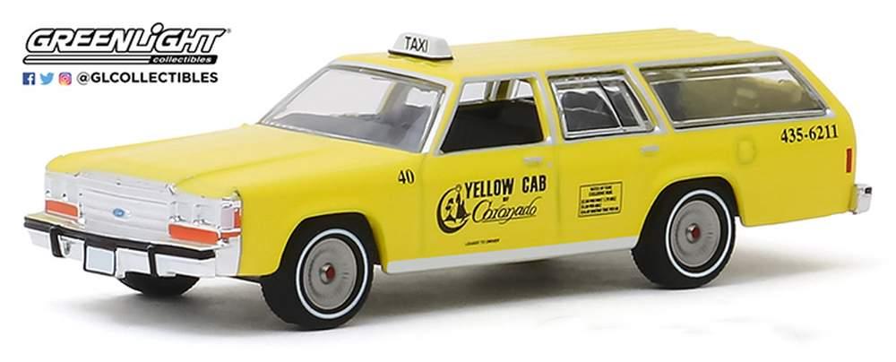 "1:64 1988 Ford LTD Crown Victoria Wagon ""Yellow Cab of Coronado, CA"""