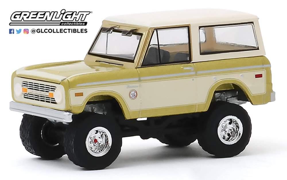1:64 1976 Ford Bronco - Colorado Gold Rush Bicentennial Special Edition