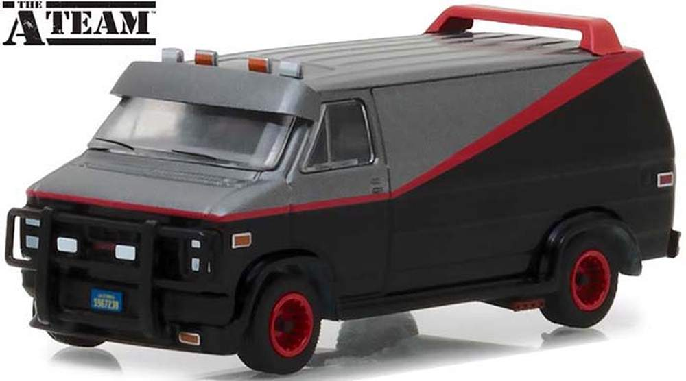 1:64 Hollywood Series 19 - The A-Team (1983-87 TV Series) - 1983 GMC Vandura