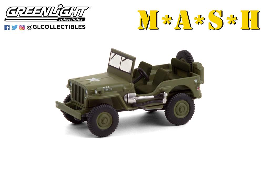 1:64 Hollywood Series 30 - M*A*S*H (1972-83 TV Series) - 1942 Willys MB Jeep