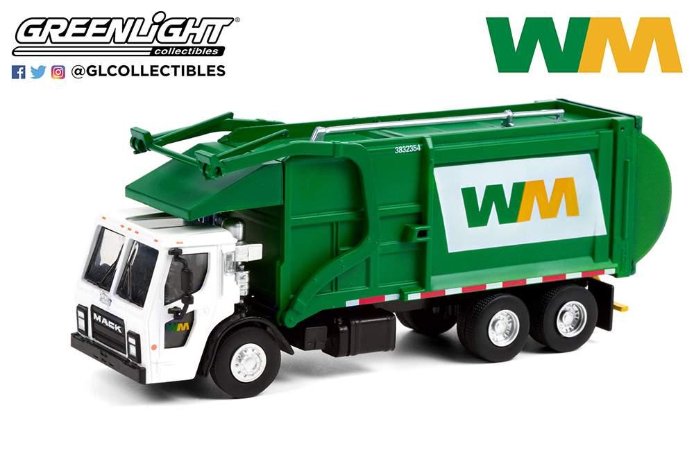 1:64 S.D. Trucks Series 12 - 2020 Mack LR Refuse Truck - Waste Management
