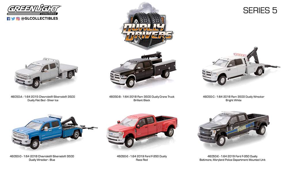1:64 Dually Drivers Series 5 (Set of 6)