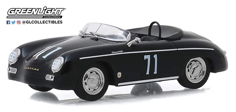 """1:43 Steve McQueen Collection (1930-80) - 1958 Porsche 356 Speedster """"Super #71"""" Race Car"""