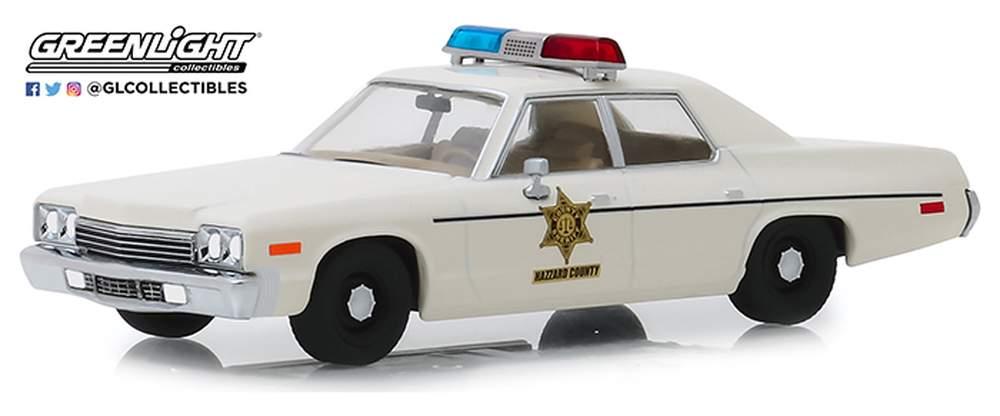"1:43 1975 Dodge Monaco ""Hazzard County Sheriff"""