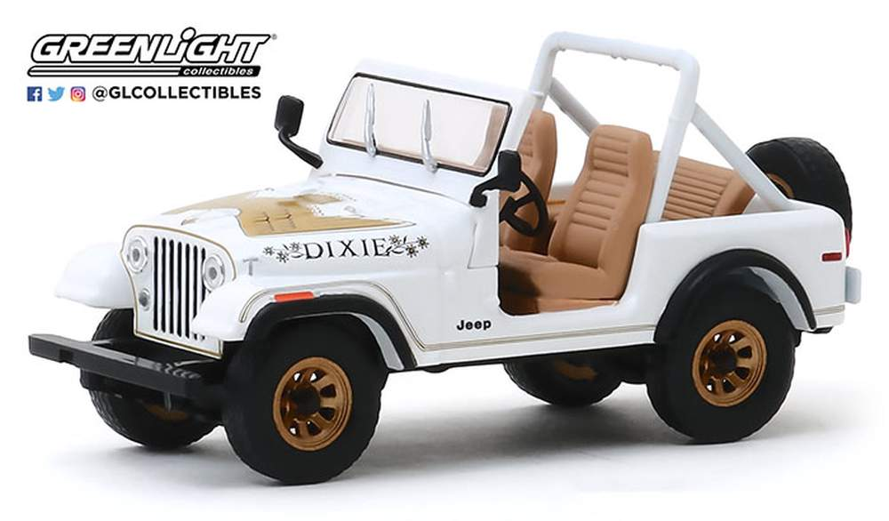 "1:43 1979 Jeep CJ-7 Golden Eagle ""Dixie"""