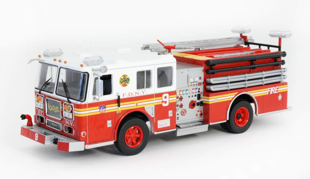 """1:43 2003 Seagrave Marauder II """"FDNY Engine 9 'Dragonfighters' Chinatown"""""""