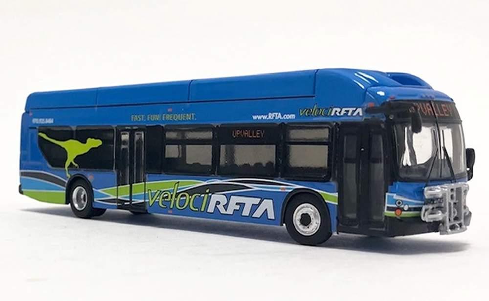"1:87 New Flyer xcelsior XN40 CNG Transit Bus ""Aspen Roaring Fork Transit"""