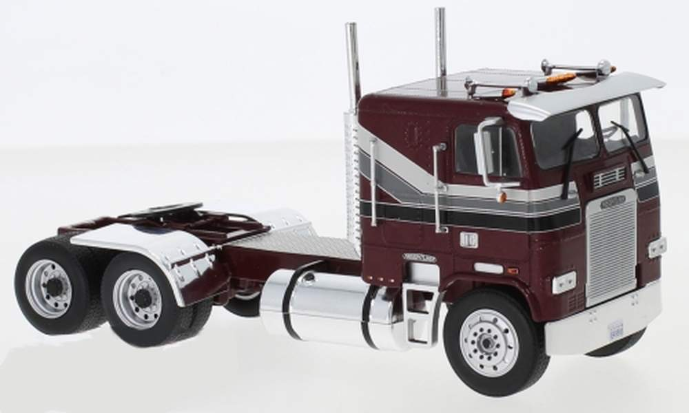 1:43 1993 Freightliner FLA COE Tractor (Red)