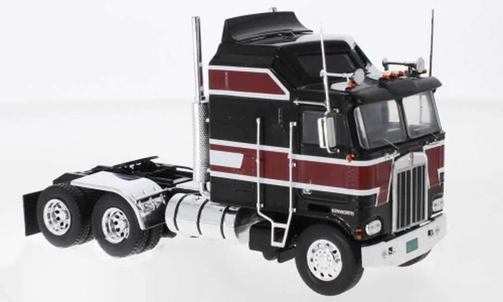 1:43 1976 Kenworth K100 COE Aerodyne Tractor (Black)