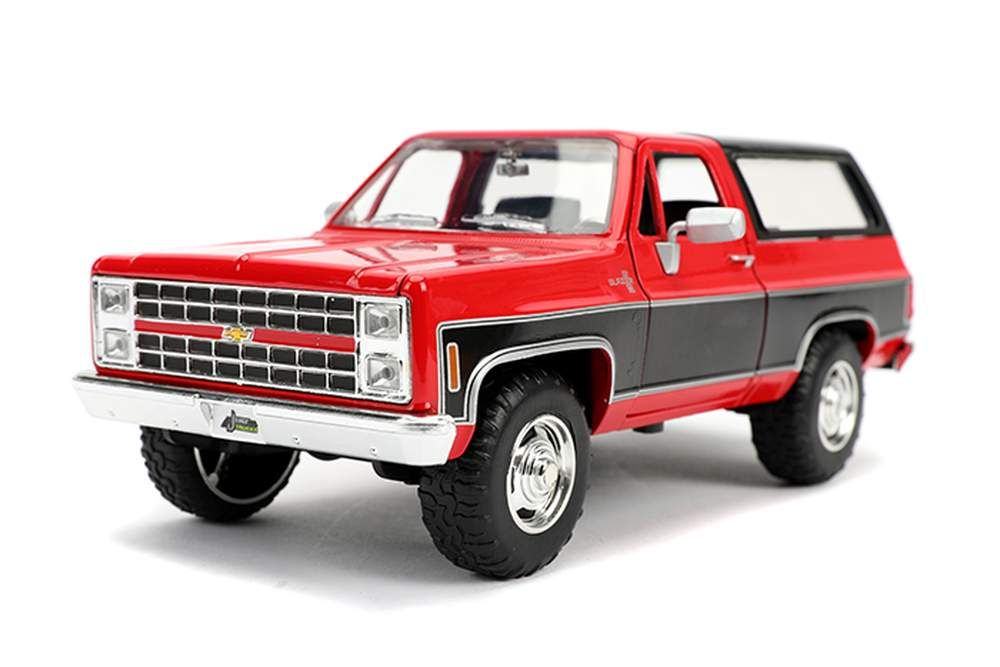 1:24 Just Trucks - 1980 Chevy Blazer Stock (Gloss Red)