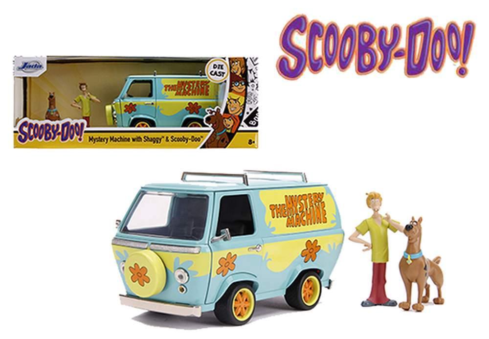 1:24 Scooby-Doo Mystery Machine w/Shaggy & Scooby