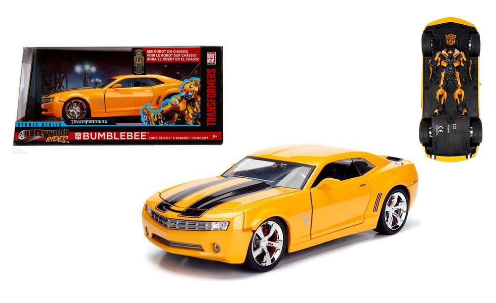 1 24 transformers 2006 chevy camaro bumblebee hollywood movies diecast direct inc - Images of bumblebee from transformers ...