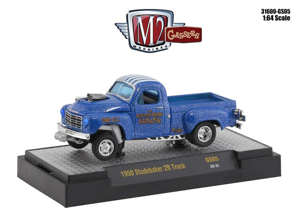 1:64 Special Release - 1950 Studebaker 2R Truck Gasser