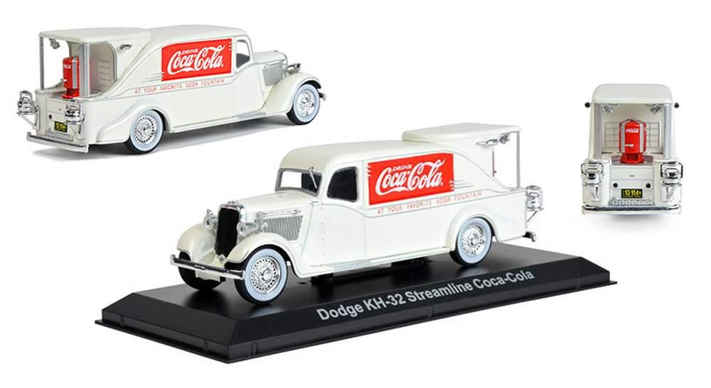 Coca-Cola 1934 Dodge KH-32 Fountain Truck (White)