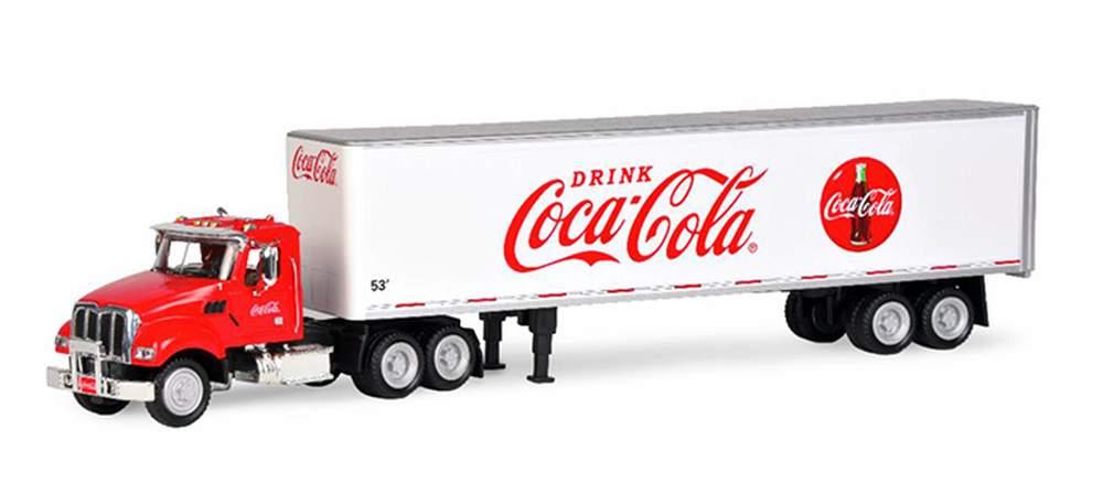 1:50 Coca-Cola Kenworth T880 w/53' Van Trailer (Red/White)