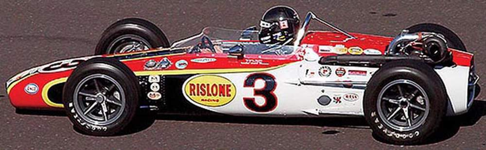 1968 Rislone Eagle, Winner Indianapolis 500, Bobby Unser