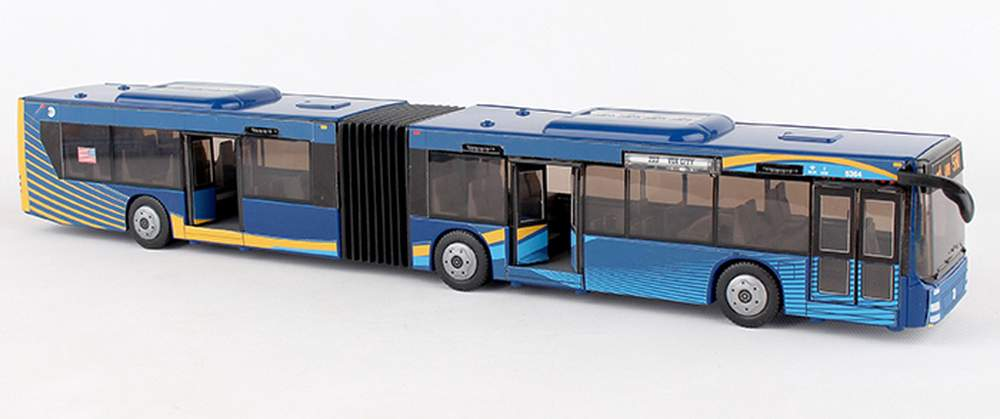 "1:50 MTA Articulated Bus ""New York City"""