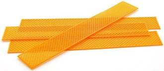 1:50 Construction Fencing (4 Sections) (Safety Orange)
