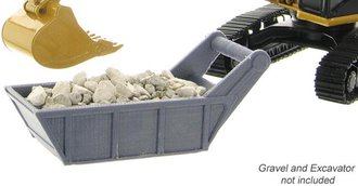 1:50 Gravel & Bedding Box (Grey)