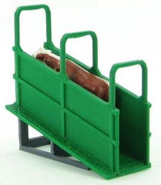 1:64 Livestock Loading Chute (Semi Trailer Height)