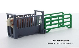 1:64 Livestock Squeeze Chute Kit w/Two (2) Panels