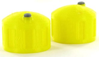 1:64 Bulk Fluid Tank - 2-Pack - Yellow