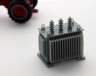 1:64 Electrical Transformer (Gray)