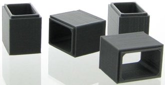 1:87 Concrete Box Culvert (4-Pack) (Grey)