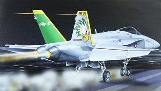 "F-18 Hornet ""US Navy, Chippy Ho!, VFA 195, CaG Birds"""