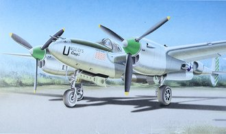 "P-38L Lightning ""USAAF, Uncle Cy's Angel, WWII Ace"""