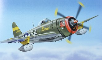 "P-47D Thunderbolt ""USAAF, Norma, 65 FS - 57 FG, Italy 1944, WWII"""
