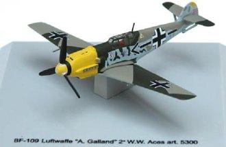 """BF-109 Luftwaffe """"JG26 Obersitt, A. Galland, WWII Aces"""""""