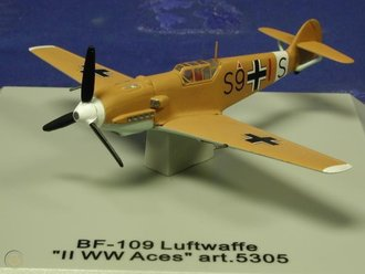 "BF-109 Luftwaffe ""JG54, WWII Aces"""